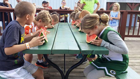 Swan's Pumpkin Farm in Racine County - Watermelon Festival