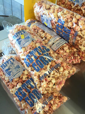 Swan's Pumpkin Farm in Racine County - Kettle Corn