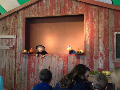 Swan's Pumpkin Farm in Racine County - Puppet Theater